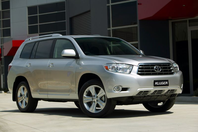 Limited edition Toyota Kluger announced