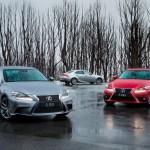 IS range returns to Lexus line-up