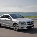 New Mercedes-Benz CLA-Class here in October