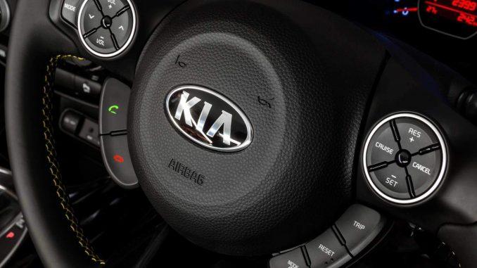 kia steering wheel