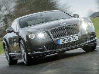 Bentley boosts Continental GT Speed