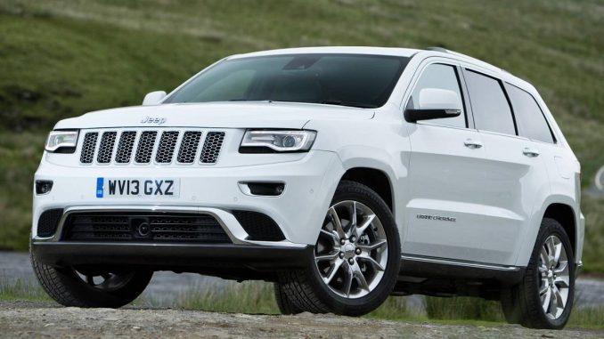 Jeep Grand Cherokee Brake Recall