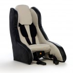 Volvo shows inflatable child seat concept
