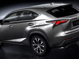 Lexus officially reveals NX SUV