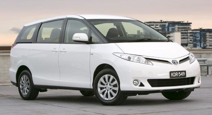 Toyota Tarago sales milestone