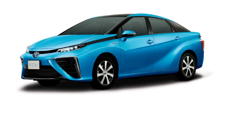 Toyota moves towards hydrogen