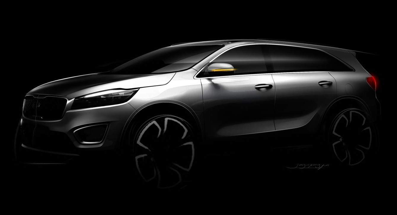 Next-gen Kia Sorento looms