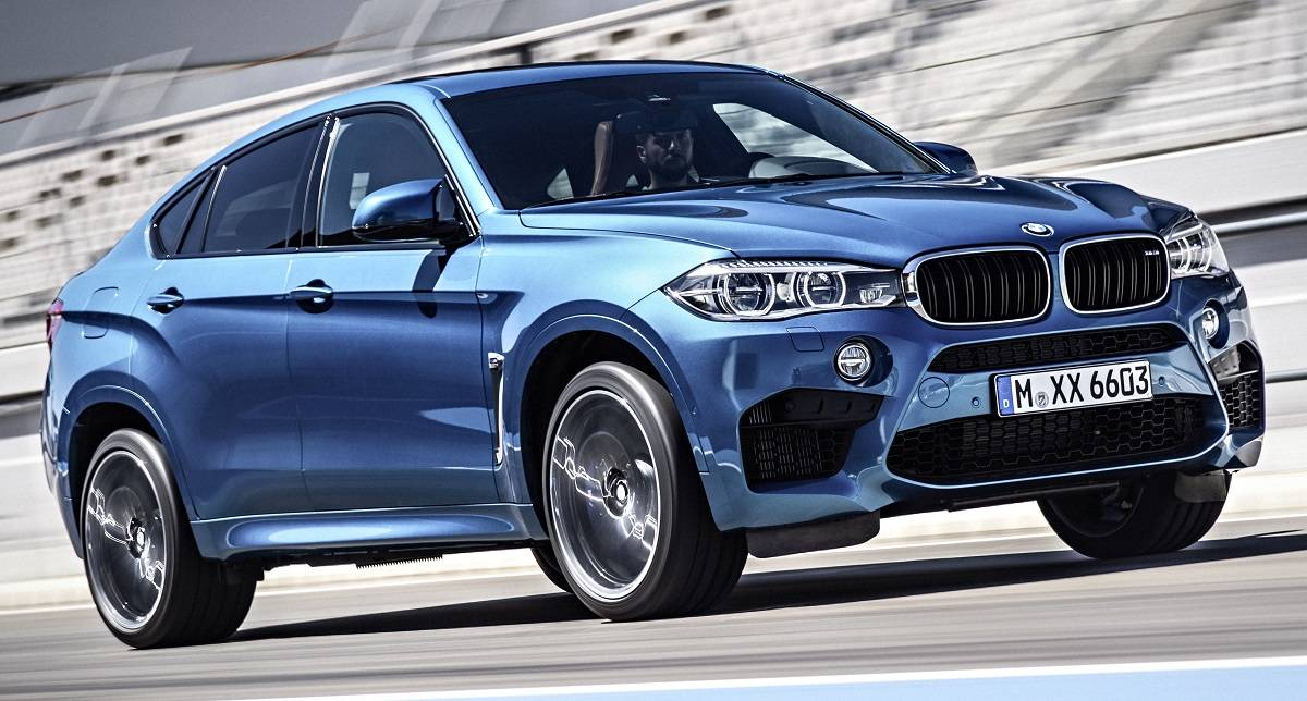 BMW X5 M and X6 M debut in LA