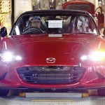 Next-gen Mazda MX-5 now in production