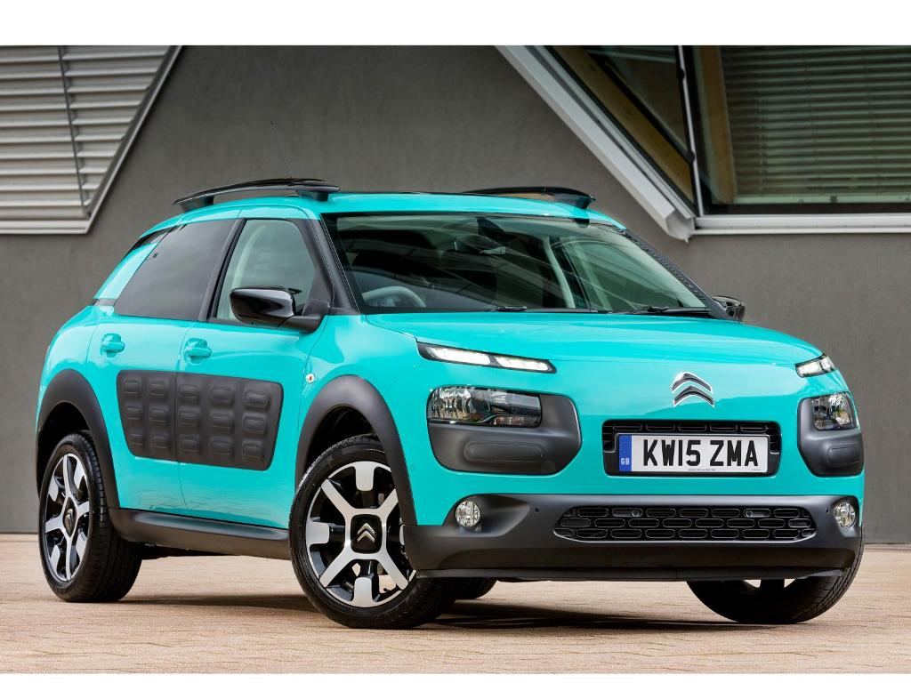 Citroën C4 Cactus customisable for customers