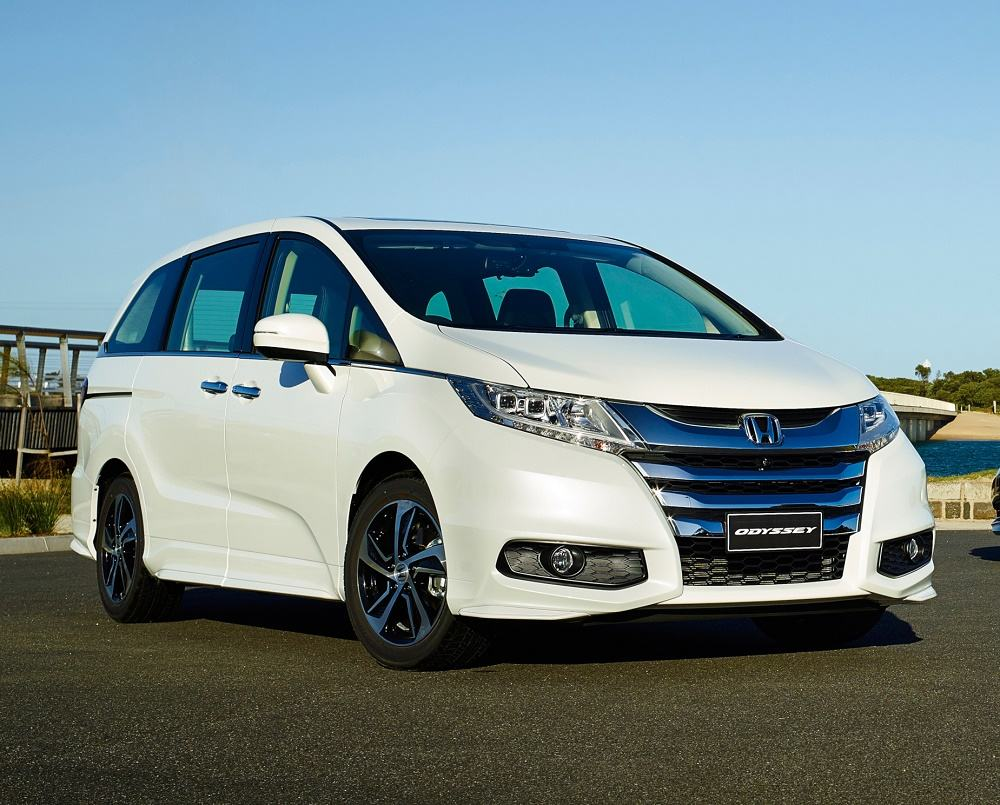 Honda Odyssey remains best-selling people mover