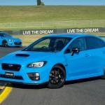Subaru Hyper Blue special edition arrive