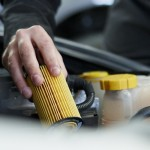 Clean air filters protect car engines