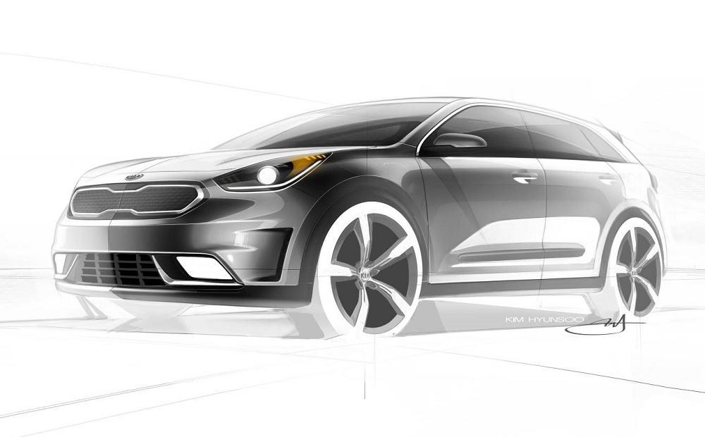 Kia tease new Niro Hybrid concept
