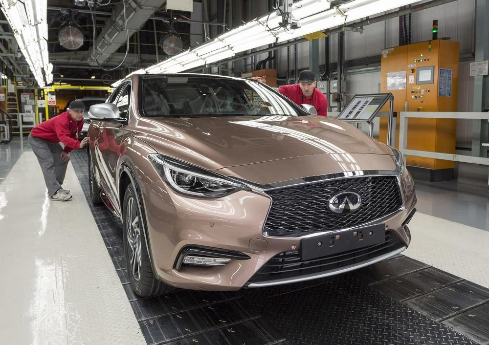 Infiniti Q30 Now in Production