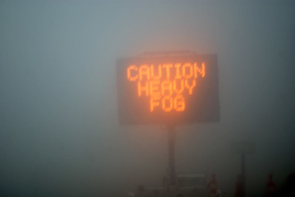 Driving Safely in Fog Tips