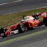 Ferrari and Mercedes on top at opening F1 test