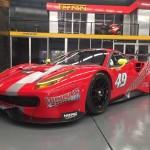 First Ferrari 488 GT3 arrives in Australia