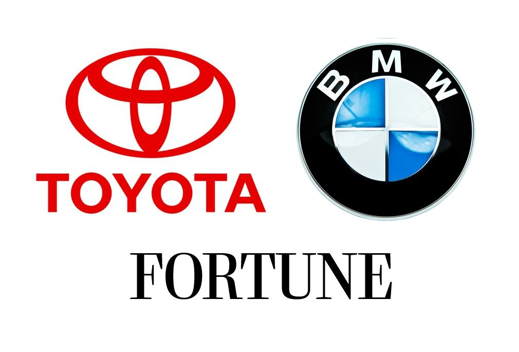 Toyota and BMW Make Most Admired List