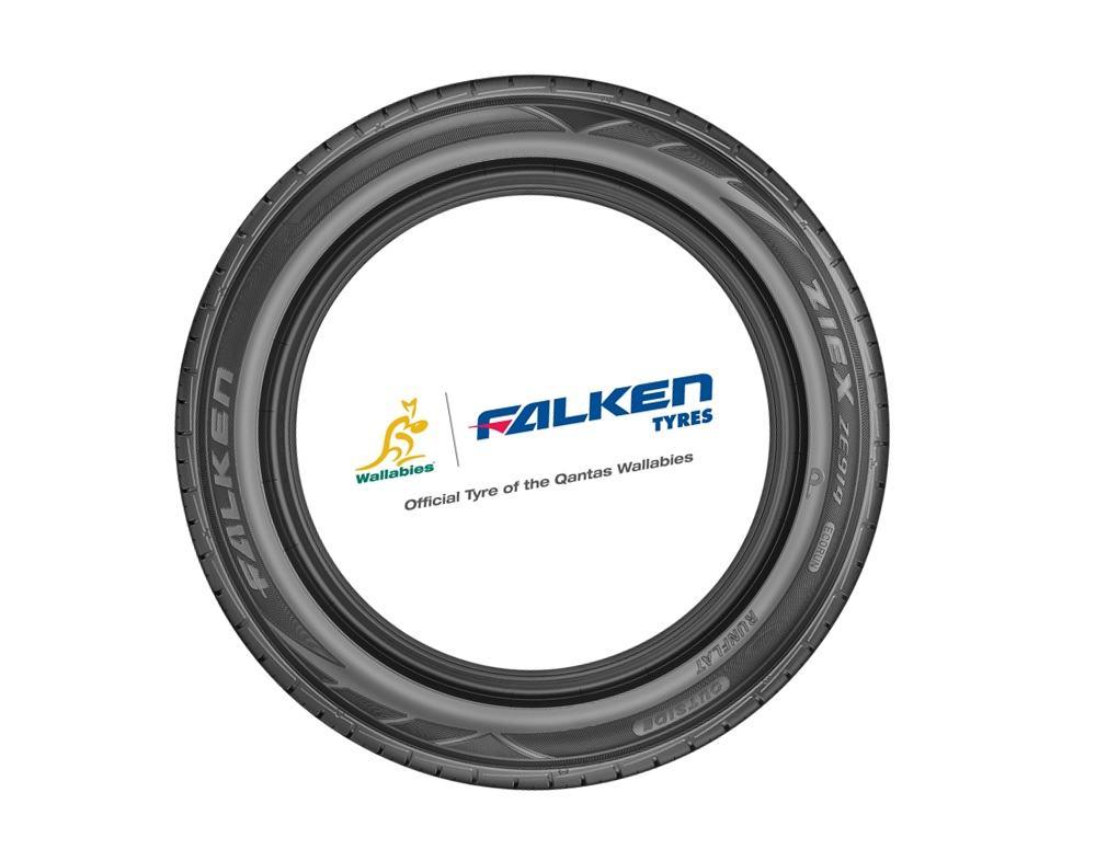 Falken Tyres back the Wallabies