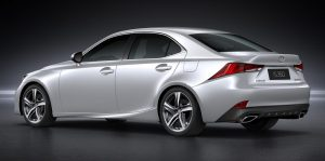 Refreshed Lexus IS debuted in China