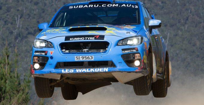 Subaru dominates 2016 ARC Rally Canberra