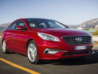 Hyundai Sonata updated for 2017
