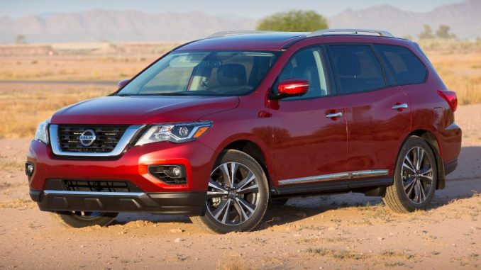 2017 Nissan Pathfinder launched in USA