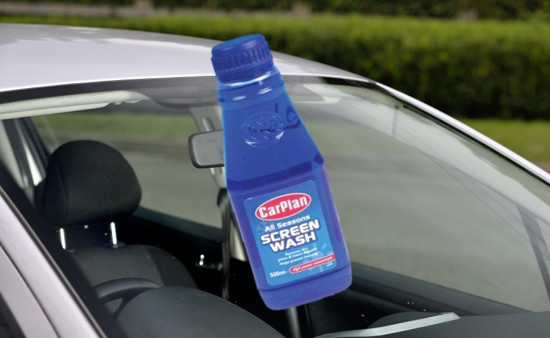 CarPlan Screen Wash
