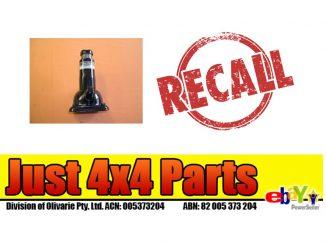 Just 4x4 Parts Vehicle Jack Recall