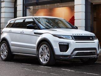 Range Rover Evoque hits five-year production milestone