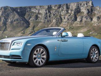 Rolls-Royce Dawn named World's Best Convertible