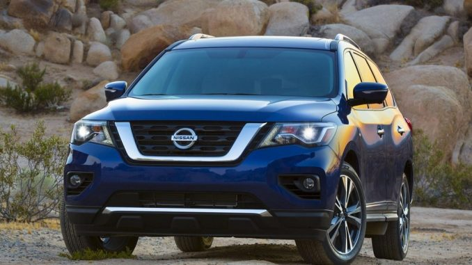 Top safety score for 2017 Nissan Pathfinder
