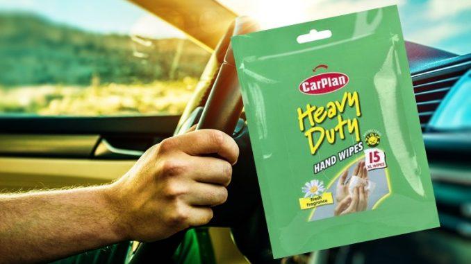 CarPlan Hand Wipes