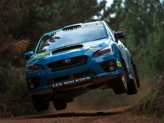 Subaru do in action in Tasmania tomorrow