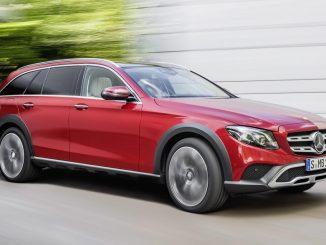 Mercedes-Benz E-Class All-Terrain confirmed