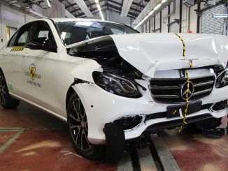 Top safety score for Mercedes-Benz E-Class