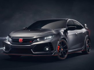Honda Civic Type R Prototype revealed in Paris