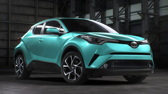 Toyota reveals more of new Toyota C-HR