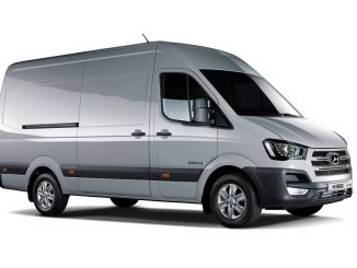 Hyundai unveils hydrogen fuel cell van concept