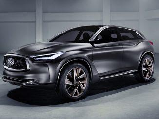 Infiniti debuts mid-size SUV at Paris Motor Show