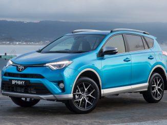 2017 Toyota RAV4 range gets extra features