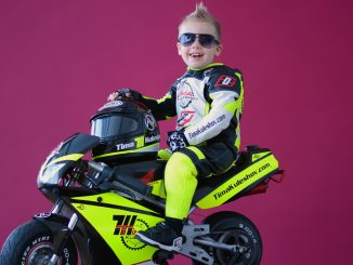 Two Year Old Motorcycle Racer Tima Kuleshov