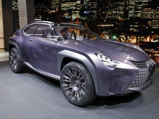 Futuristic Goodyear Tyres developed for Lexus UX