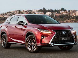 New variants added to Lexus RX range in Australia