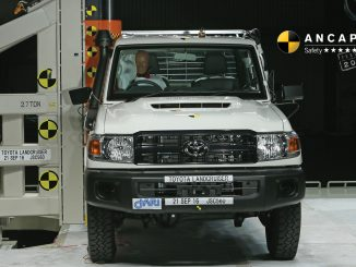 Toyota Landcruiser 70 Series gets top safety score