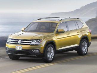 Volkswagen Atlas SUV revealed