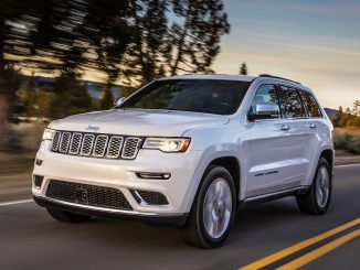 Top safety score for 2017 Jeep Grand Cherokee