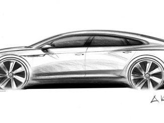 Volkswagen Arteon teased ahead of Geneva debut