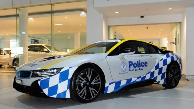 BMW i8 joins NSW Police Force